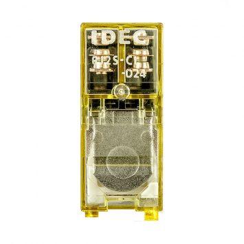 Rele auxiliar 2 contactos inversores rj2s-cl 24vcc im.res.8a montaje a zocalo
