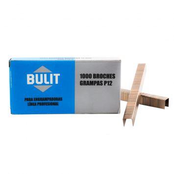 Grampas 12mm p/engrampadora profesional x 1000 unidades