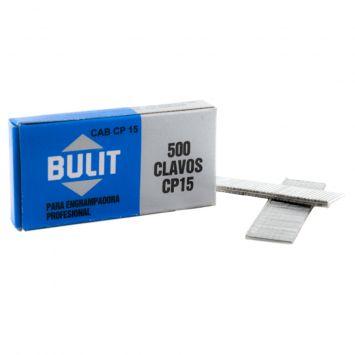 Clavos de 15mm p/engrampadora profesional x 500 unidades