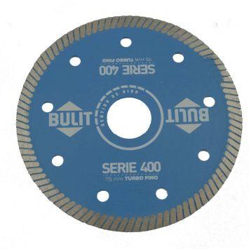 Disco diamantado serie 400 turbo fino 115mm bulit