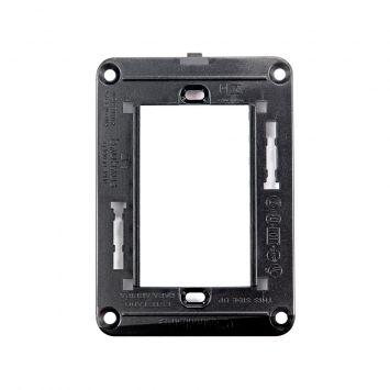 Bastidor soporte  p/cajas 5x10 para tapas linea bauhaus