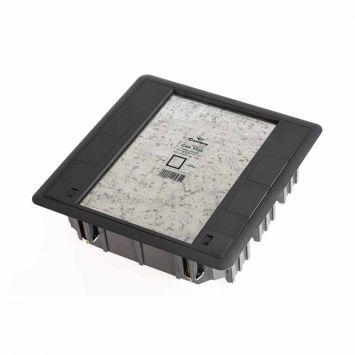 Caja para pisos (tecnicos y ductos) de tres islas h/18 modulos