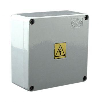Caja estanca de aluminio inyectado ip65 multifunción 120x120x60mm