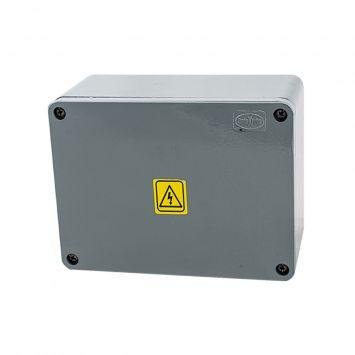Caja estanca de aluminio inyectado ip65 multifunción 150x200x100mm