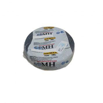CABLE UNIPOLAR FLEXIBLE PVC 0.75MM NEGRO