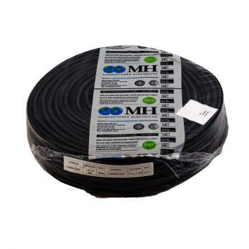 CABLE TIPO TALLER BIPOLAR 2X1.5MM PVC NEGRO