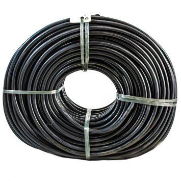 CABLE TIPO TALLER BIPOLAR 2 X 4  MM PVC NEGRO