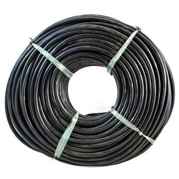 CABLE TIPO TALLER TETRAPOLAR 4 X 1 .5 MM PVC NEGRO