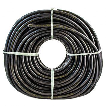 CABLE TIPO TALLER TETRAPOLAR 4 X 2 .5 MM PVC NEGRO