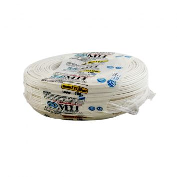 CABLE BIPOLAR PARALELO PERFIL 8  2 X 1.5MM BLANCO