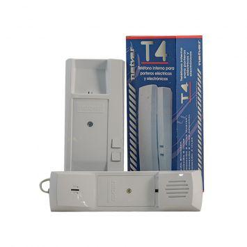 Telefono portero electrico netyer blanco simple universal t4