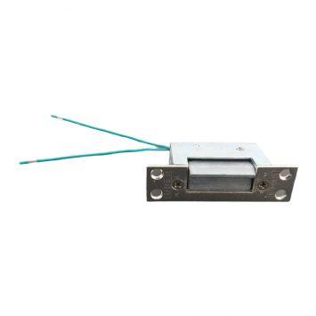 Cerradura electrica con frente hierro zincado 8 a 12v  500ma