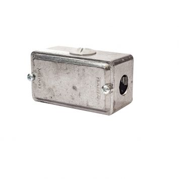 Caja multiple interior t/conduit x 1/2 rosca gas p/caño 3/4galvanizado