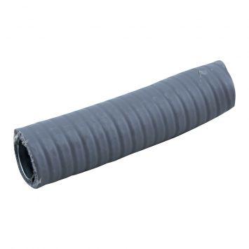 Caño metalico flexible c/pvc estanco ip65 1 gris  x metro