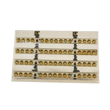 DISTRIBUIDOR ELECTRICO TETRAPOLAR PROFESIONAL 280X180MM 250A 1000V 4 BARRAS C/TORN. 1/4