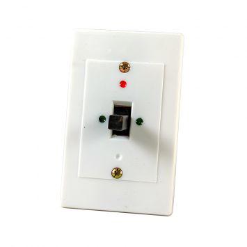 Llave interruptor a palanca tripolar p/panel embutir 20a 380v