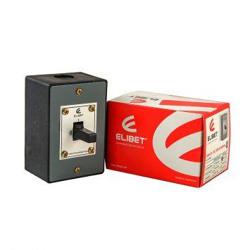 Llave interruptor a palanca tripolar  p/caja exterior 20a 380v