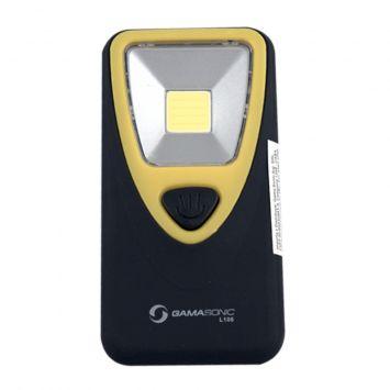 Kit - linterna mini led 220lm p/colgar o iman  + pilas 3xaaa x4 uni-