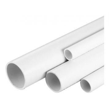 CAÑO RIGIDO PVC IP54 P/DOBLAR EN FRIO Ø 50MM 3MTS. ( PAQ. x 5 TIRAS ) GRIS