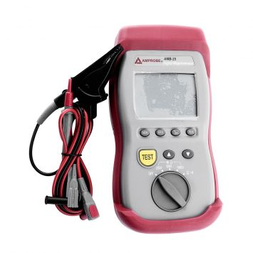 Megohmetro digital probador de resistencia de aislamiento h/1000v  amb-25