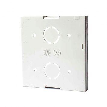Base de superficie exterior p/2 modulos jeluz blanco