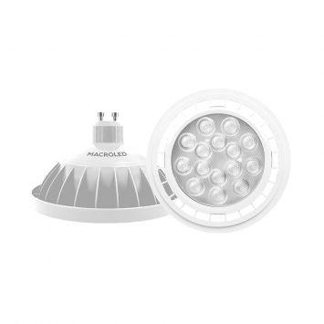 LAMPARA LED AR111 BLANCA 11W BCO.FRIO 6000K 220V E27