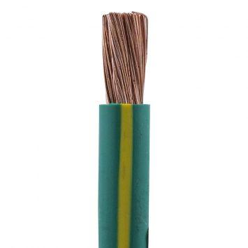Cable unipolar flexible pvc  superastic 35mm  verde amarillo