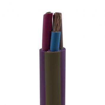 Cable subterraneo sintenax valio tetrapolar 4 x 6m violeta