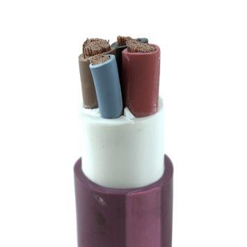 Cable subterraneo sintenax valio tetrapolar 3 x 25mm + 1 x 16mm violeta