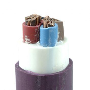 Cable subterraneo sintenax valio tetrapolar 3 x 35mm + 1 x 16mm violeta