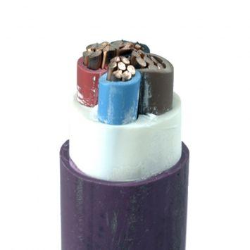 Cable subterraneo sintenax valio tetrapolar 3 x 50mm + 1 x 25mm violeta
