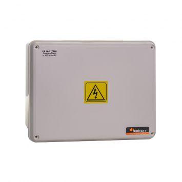 CAJA PASO DERIVACION PLASTICA ESTANCA IP65 200X150X104MM BLANCA