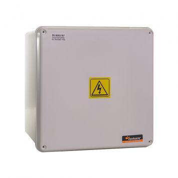 Caja paso derivacion plastica estanca ip65 200x200x157mm blanca