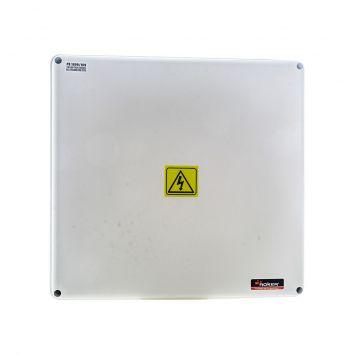 Caja paso derivacion plastica estanca ip65 285x265x99mm blanca