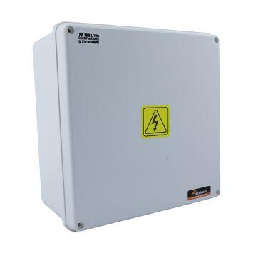 Caja paso derivacion plastica estanca ip65 200x200x104mm blanca