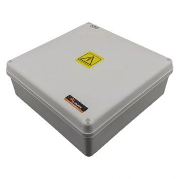 Caja plastica de paso estanca 200x200x75mm ip65