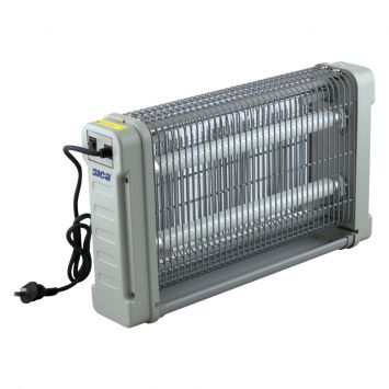 Mata moscas electrico comercial - protege 80m2 - 20w