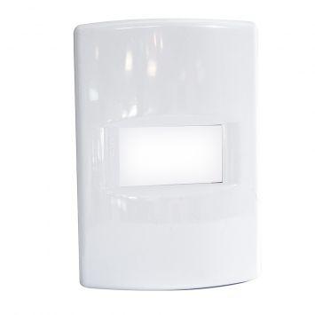 Tapa p/1 modulo rectangular blanco puro linea life