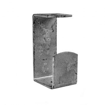 Grampa de suspension tipo j  p/perfil c galvanizada