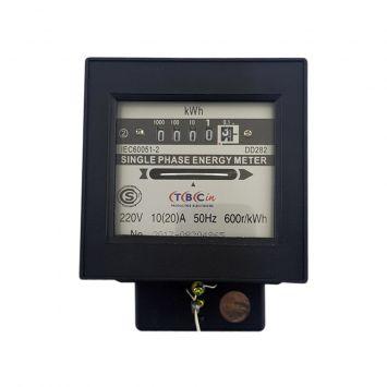 Medidor 1-fase 2hilos 220-50hz corriente 10/20a 1.1kw familiar