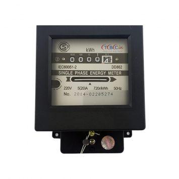 Medidor 1-fase 2hilos 220-50hz corriente 5/20a 2 kwh