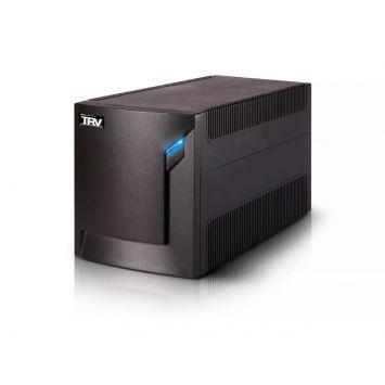 UPS INTERACTIVA NEO 2000 C/ PUERTO USB + SOFTWARE DE MONITOREO + 4 TOMAS + BATERÍA INTERNA /PCs /TV LCD/ AUDIO