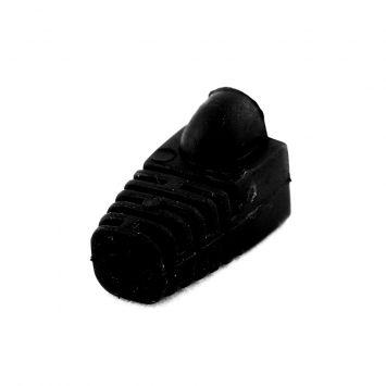 Capuchon plastico p/plug modular rj45 negro