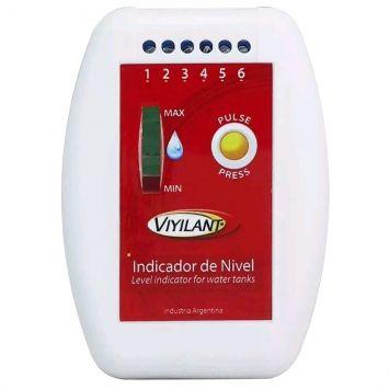 Indicador de nivel p/tanques de agua  9v de alimentacion  y 5 niveles de sensado