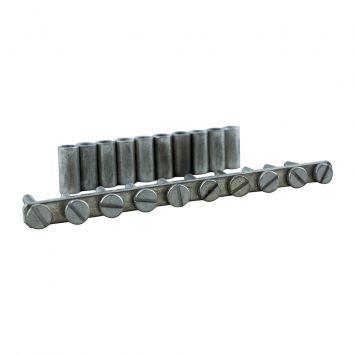 Puente fijo p/uniones transversales 10 elementos p/borne bpn 16mm  jssb-10-12/bpn