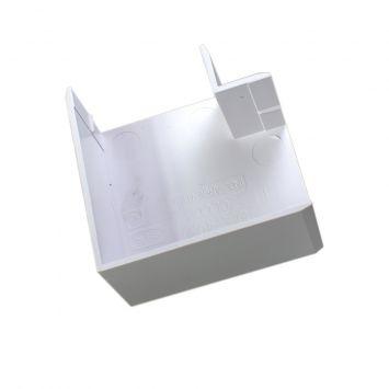 Accesorio p/cablecanal 40x30mm curva plana ele-4030-bl blanco