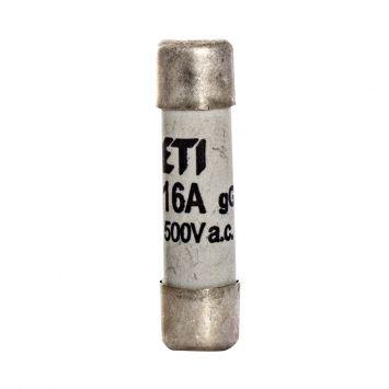 Fusible cilindrico  de proteccion 38 x 10mm  16a  500v  120ka