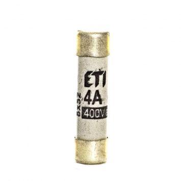 Fusible cilindrico  de proteccion 31 x 8mm  4a  400v 50ka
