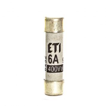 Fusible cilindrico  de proteccion 31 x 8mm  6a  400v 50ka
