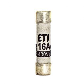Fusible cilindrico  de proteccion 31 x 8mm  16a  400v 50ka